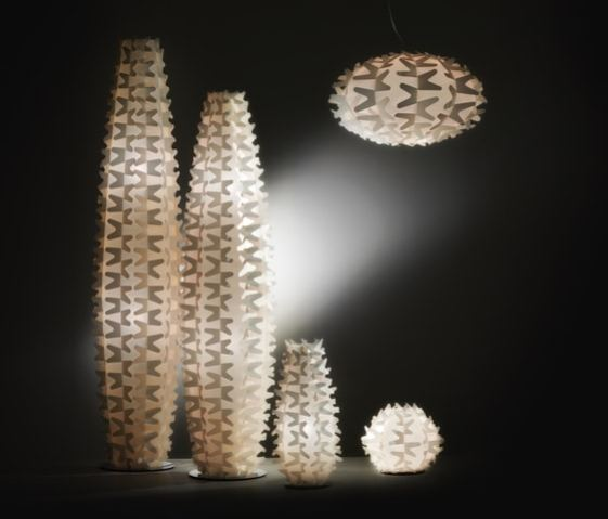 Le lampadaire Cactus by Adriano Rachele