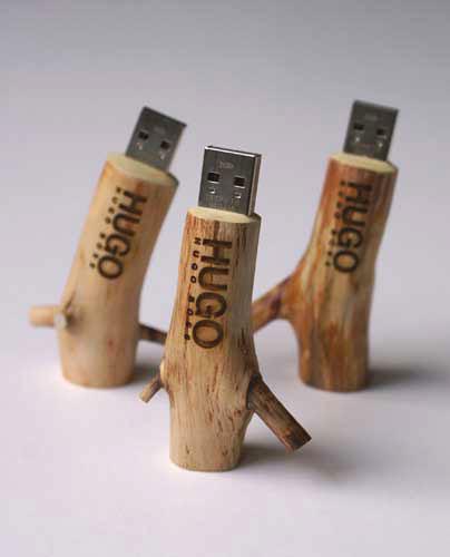 Wooden stick clés USB en bois