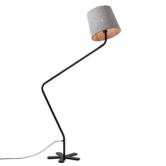 Le lampadaire design Groggy by Tom Stepp