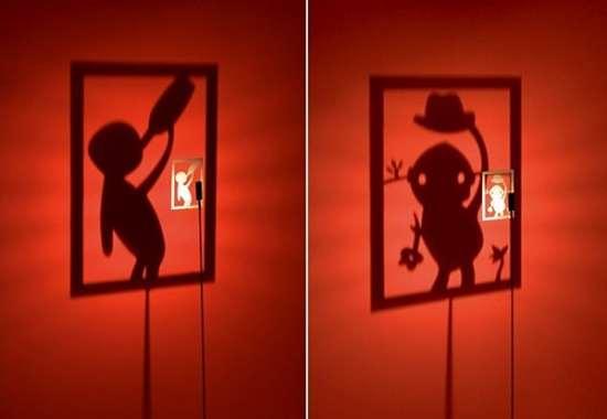 Lampes design -Le lampadaire Shining Image de Michael Rösing
