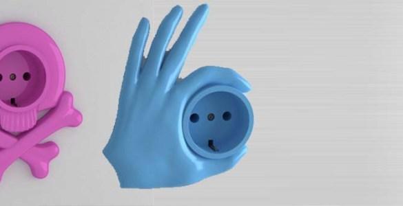 Funny Sockets prises électriques Gugkaev Tembolat