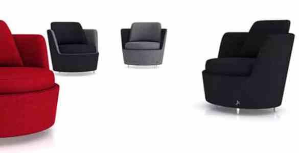 fauteuil MACC Green Sofa Sahar Famouri