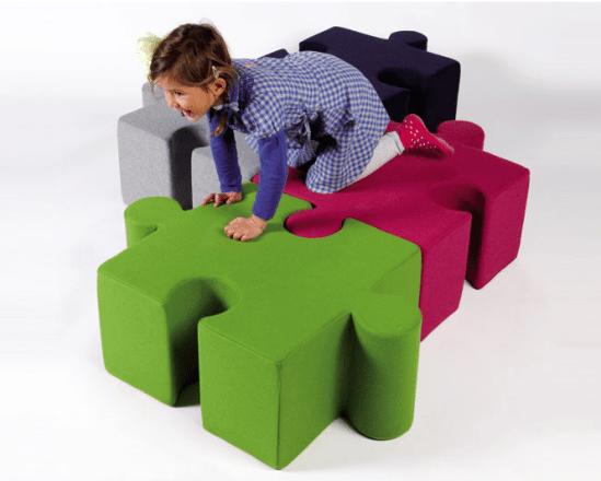 Pouf déco : le pouf pour les enfantsKidzPuzzle