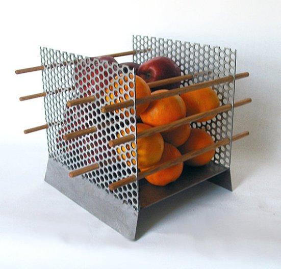 Modern Fruit Bowl 'Apples and Oranges' series