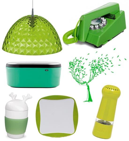 Déco colorée vert