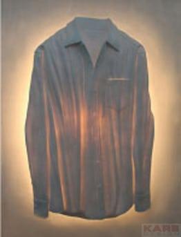 Lampes design - Lesappliques chemise et pantalon 1