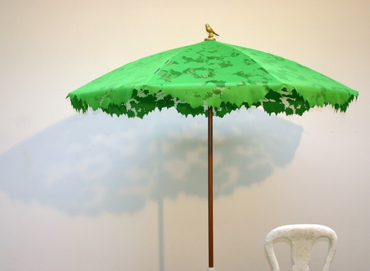 Le parasol design Shadylace de Chris Kabel