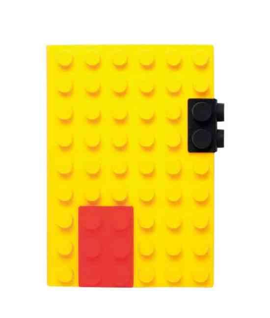 Déco Lego le carnet de notes Lego Silicon