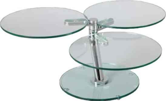 Tables basses originales -La table basse articulé ronde