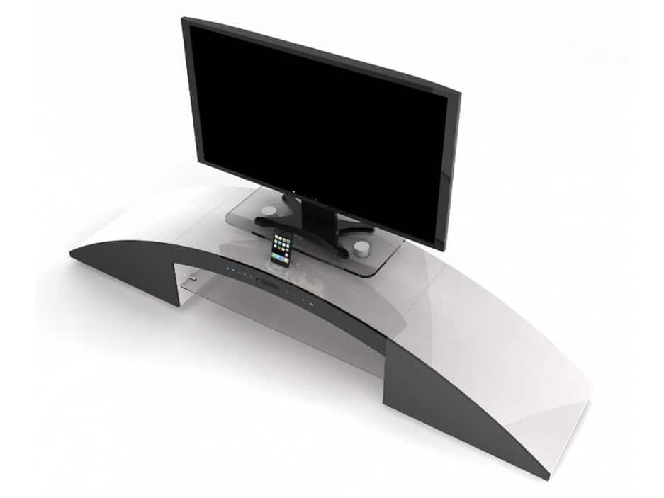 Meuble Tv Avec Home Cinema Integre Decibel