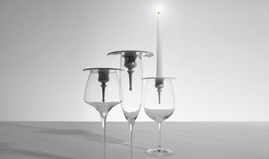 Bougeoir design -Le bougeoir Candlestickmaker by Ron Gilad