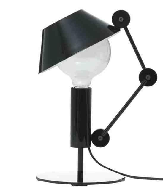 La lampe de table originale Mr Light short de Javier Mariscal