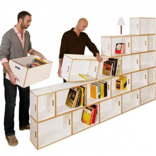 Étagères design - Les étagères BrickBoxde Design Kazam
