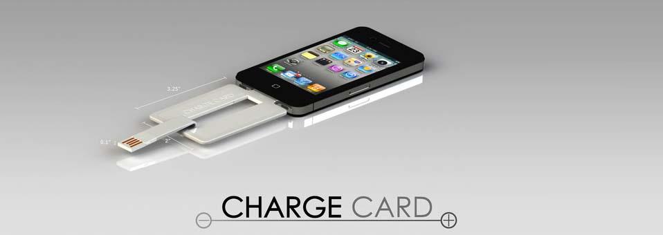 ChargeCard dock iphone design