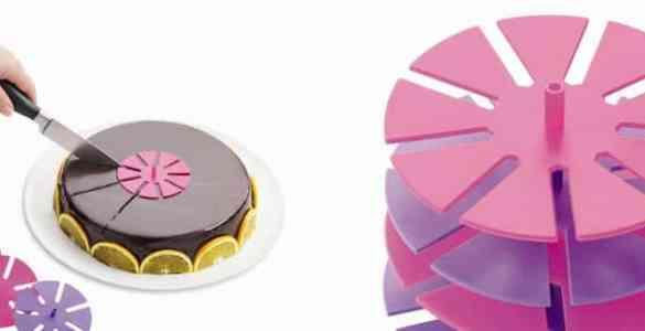 marque parts de gâteau