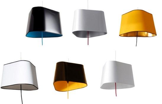 Lampes design -L'applique suspendue Petit Nuage de Hervé Langlais 2