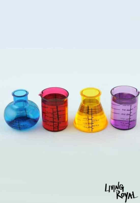 Le verre à vin béchères de chimiste by Living Royal