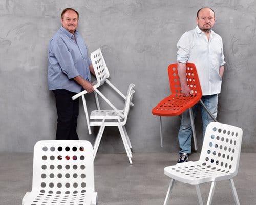 chaise Koi-Booki Claudio Dondoli Marco Pocci