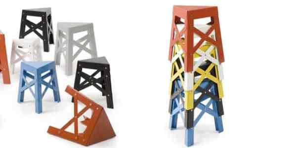 tabouret Eiffel designer Shigeki Fujishiro