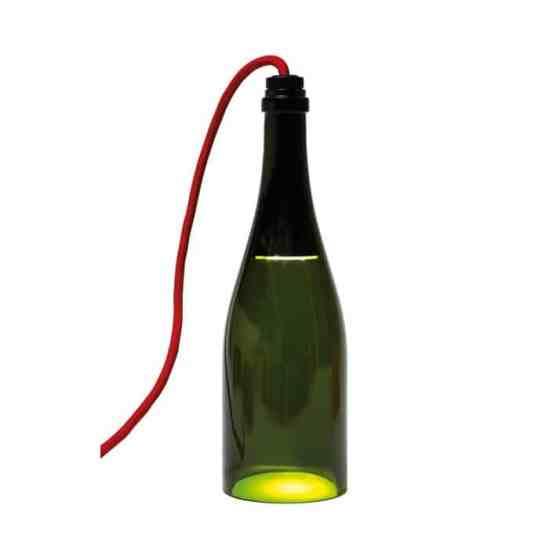 Bouteille lampe de table bouteille