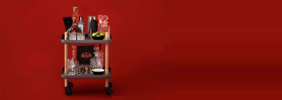 Block table desserte design Simon Legald