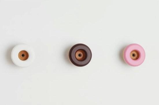 Paterne design -Les patères doughnuts