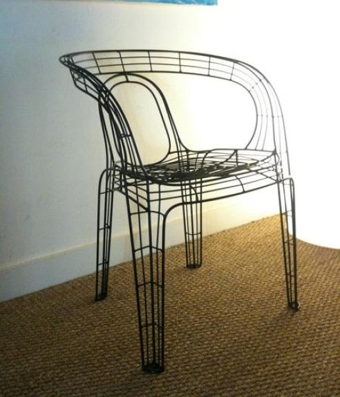 La chaise Spider