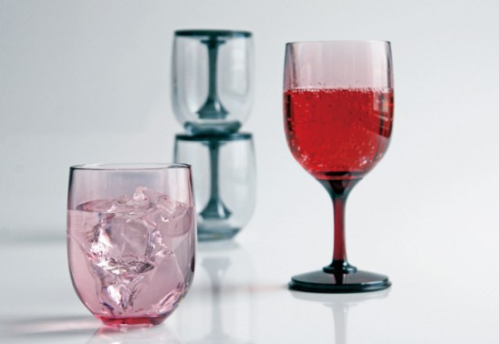 Le verre à vin et verre à eau 2 Way Cup by Takuya Hoshiki