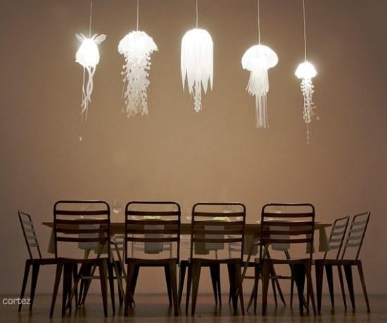 Lustre pas cher -Les lustres méduse by Roxy Russel Design
