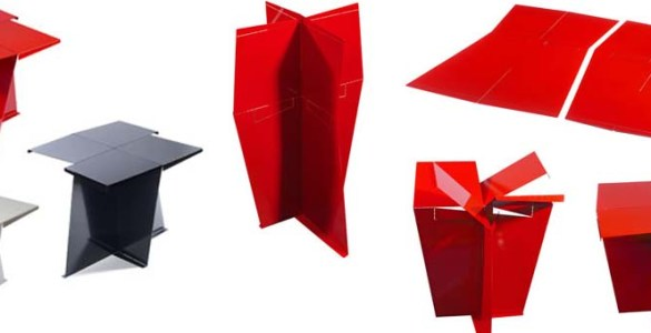 table d'appoint Origami Jaime Salm Jin Chung Young