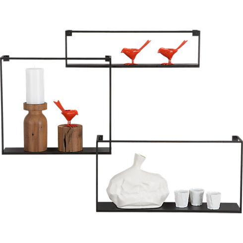 Étagères design - Les étagères flottantes en métal 3