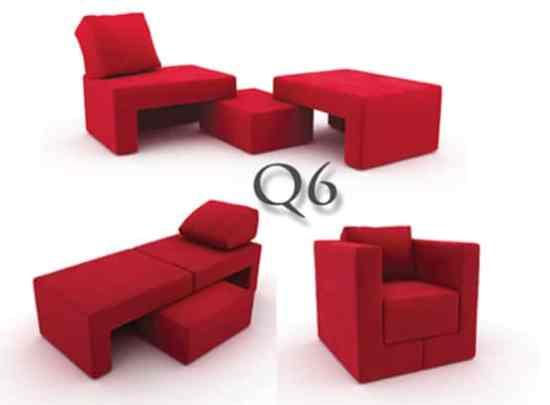 Fauteuils convertibles :Q6 deFeydom