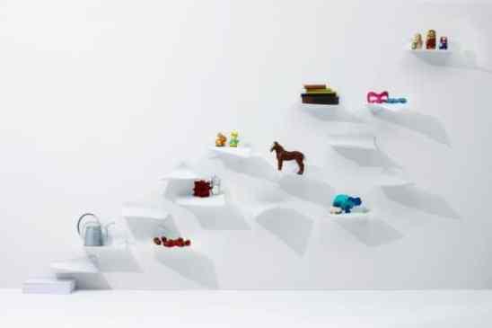 Étagères design - Les étagères Blow Shelving de Yoy