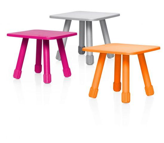 Tabouret design et la table d'appointThe Tablitski de Jukka Setälä