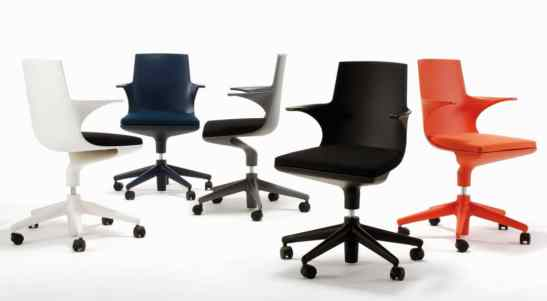 fauteuil de bureau Spoon Chair - Kartell