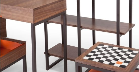 Contrast table damier
