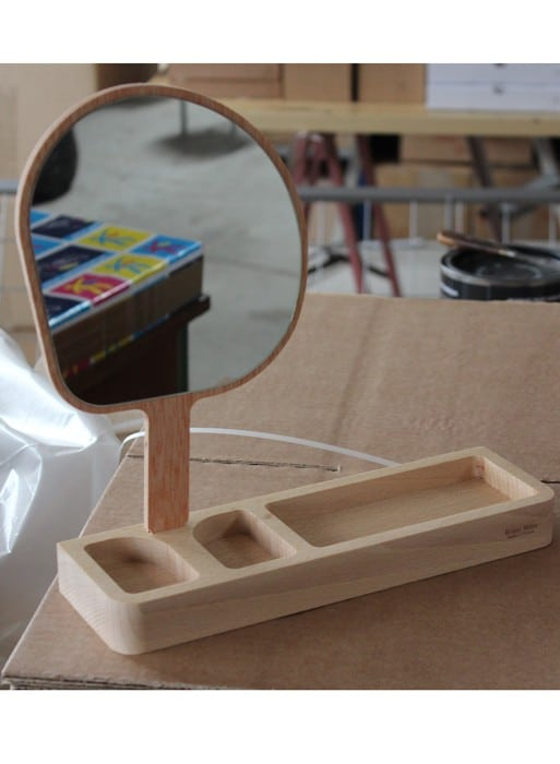 Miroirs design - Kagami, le miroir vide-poche by Stéphane Clivier