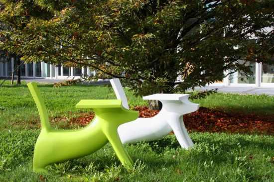 Le bureau Le Chien Savant de Philippe Starck