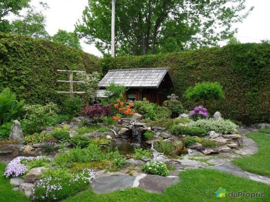 Jardin tendance