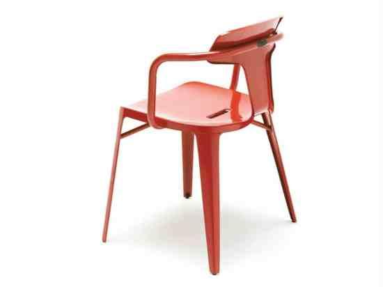 chaise design T14 Tolix Patrick Norguet 1