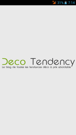 application android deco tendency
