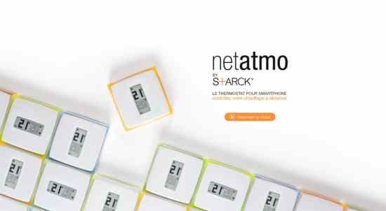 thermostat connect netatmo by starck gagner. Black Bedroom Furniture Sets. Home Design Ideas