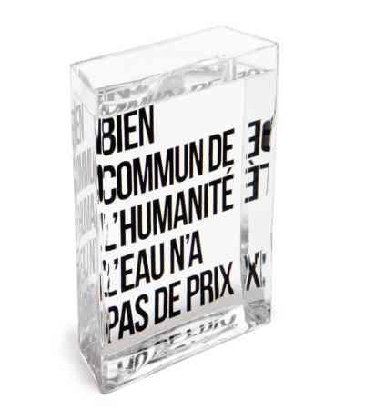 La carafe La Lame d'Eau de Philippe Starck 1