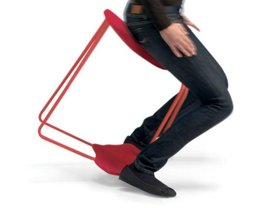 Tabouret design Dinamica deRiccardo Blumer
