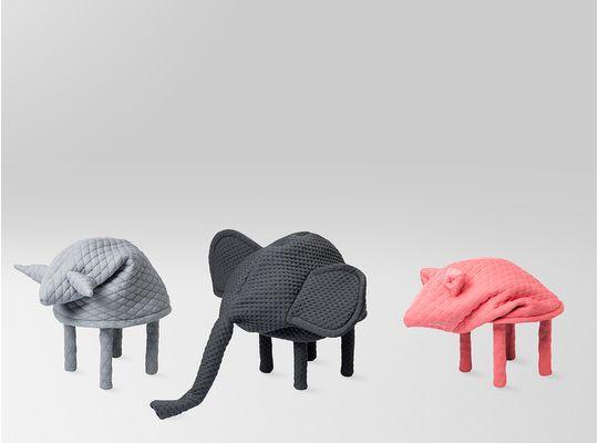Tabouret designPetstools de Hanna Emelie Ernsting