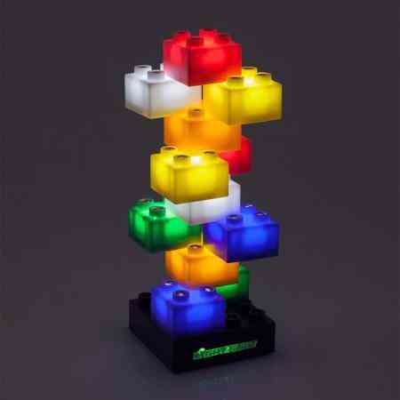 Déco Lego blocs de lumière façon Lego