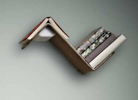Étagères design - L'étagère lumineuse Lililite 1