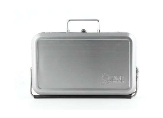 Barbecue portable Suitcase by Kikkerland 1