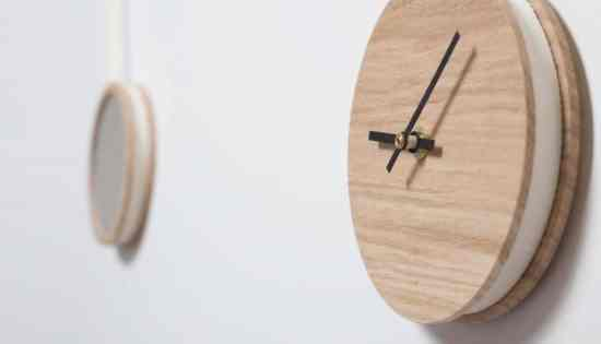 Horloges design : Pendule by Drugeot Labo