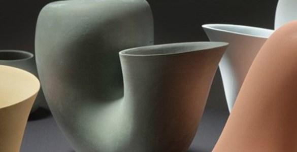 Aldo Bakker cruche en porcelaine